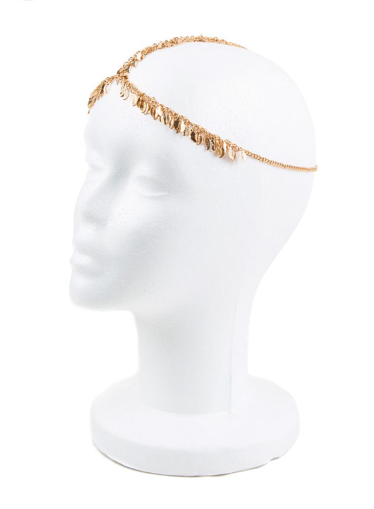 Golden Glasir Head Jewellery
