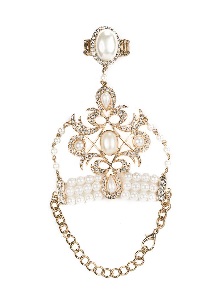 Renaissance Pearl Handpiece – Gold