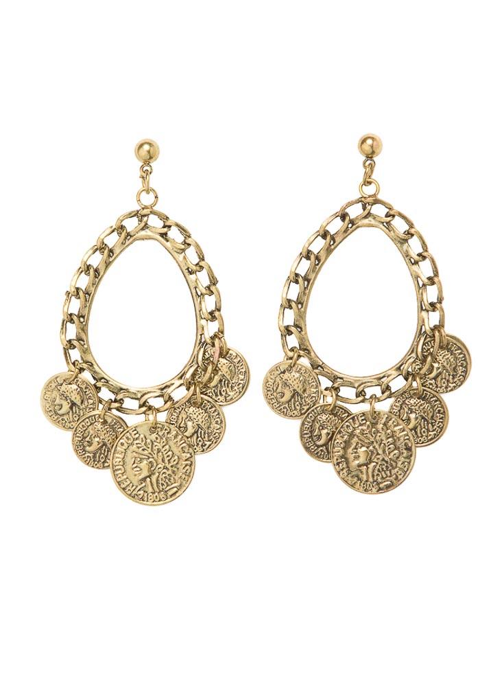 Piera Coin Earrings