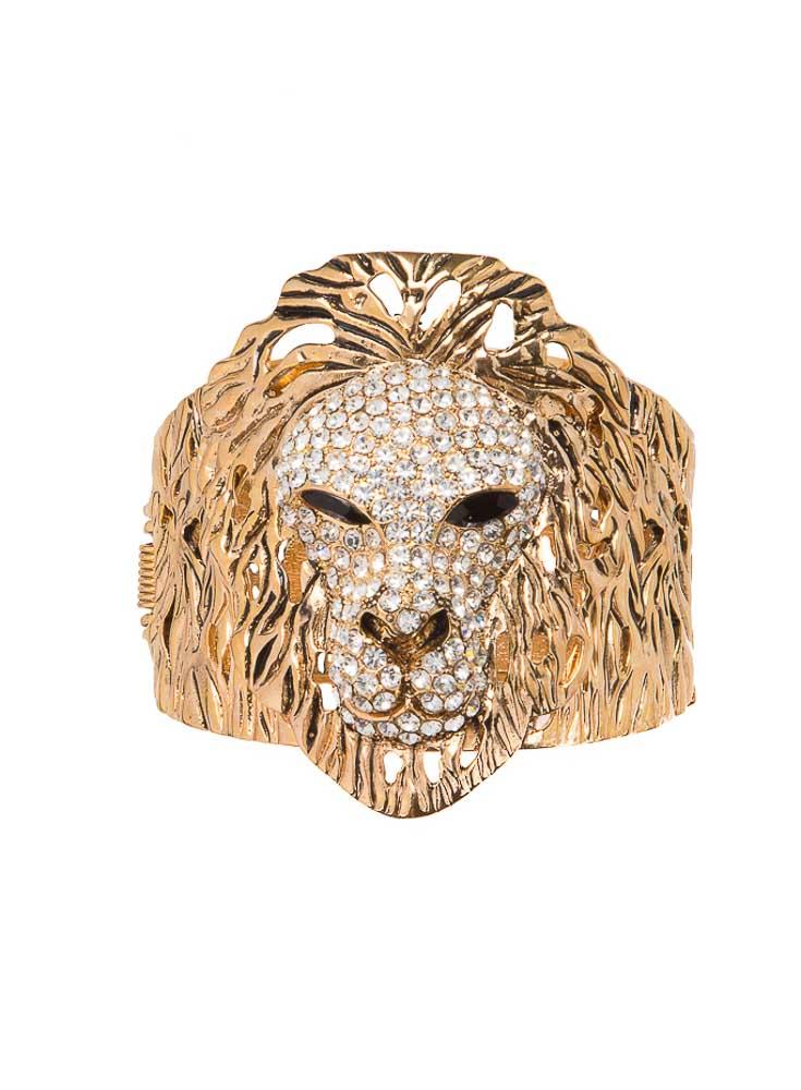 Golden Lion Bangle