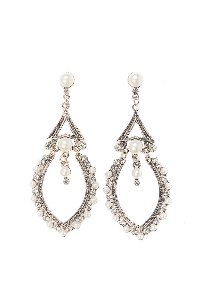 Conch Pearl Earrings